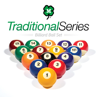 Traditional Series Billiard Ball Set by McDermott