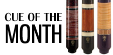 McDermott Custom Pool Cue of the Month