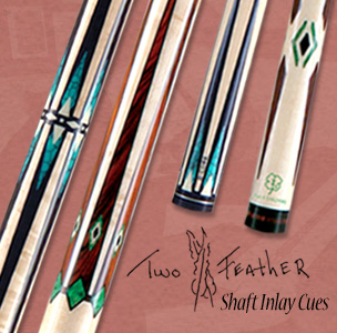 shaft inlay pool cues unique pool cue designs by mcdermott cue